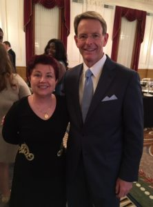 Tony Perkins and Virginia Prodan at #VVS16
